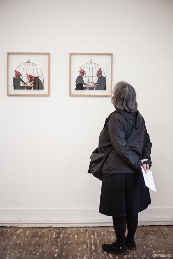"""""""House for Birds"""" Collective exhibition - Adamastor Studios, Lisbon, Portugal"""